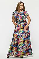 Длинное  платье в пол  Влада акварель