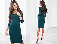 Женское облегающее зеленое платье 3013.1 NK
