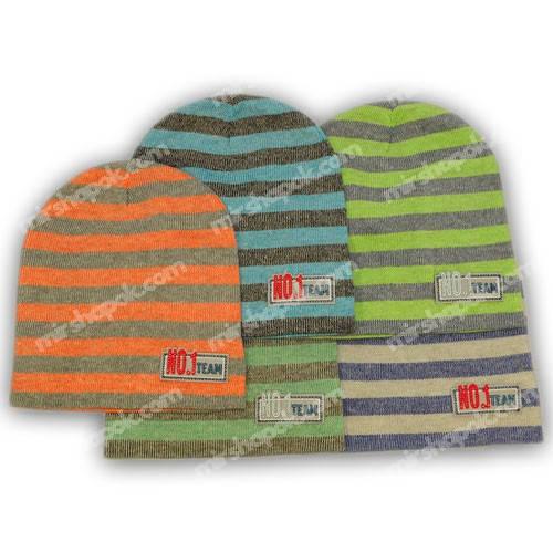 вязаные шапки для мальчиков оптом