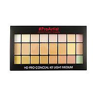 Палетка корректоров Freedom Makeup London Pro HD Conceal Kit - Light Medium