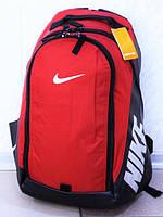 Рюкзак NIKE W402 спортивный городской повседневный красный