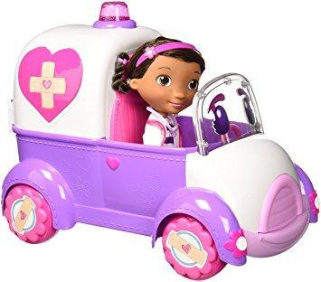 Доктор Плюшева и  машина Рози. Игровой интерактивный набор.
