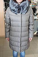 Куртка женская зима VERALBA VQ -96 -1 MY  Серый