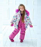Детский  комбинезон для девочки зима в Украине