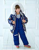 Детский зимний комбинезон девочка в интернет магазине