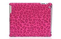 Nuoku ROYAL stylish leather case for iPad 2/3/4, pink