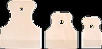 Набор шпателей резиновых 40, 60, 80 мм 3 шт Украина HTtools