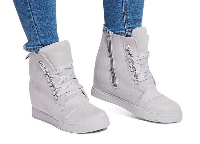 Стильные женские сникерсы,ботинки на молнии и шнуровке  размеры 39