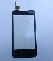 Сенсорный экран Lenovo A390, черный