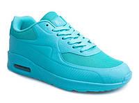 Женские кроссовки на каждый день, цвет голубой  размер 39