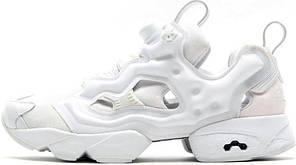 Женские кроссовки Reebok Insta Pump Fury White AR0418, Рибок Инстапамп, фото 2