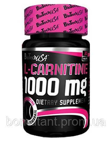 L-Carnitine 1000 mg 30 таб BioTech