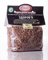 ДИЕТИЧЕСКИЕ макароны «ЗДОРОВЬЕ» №6 из ржаной или пшеничной муки грубого помола с мукой топинамбура. (0,5 кг)