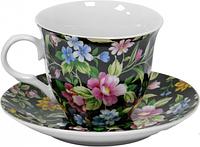 Чайный набор Цветы полевые из 12 предметов в подарочной упаковке Оселя 21-245-001