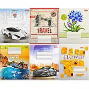 Тетрадь цветная 24 листа, линия «Мрії» «mix» C24Л