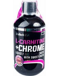 L-Carnitine 35 000 + Chrome 500 ml грейпфрут BioTech