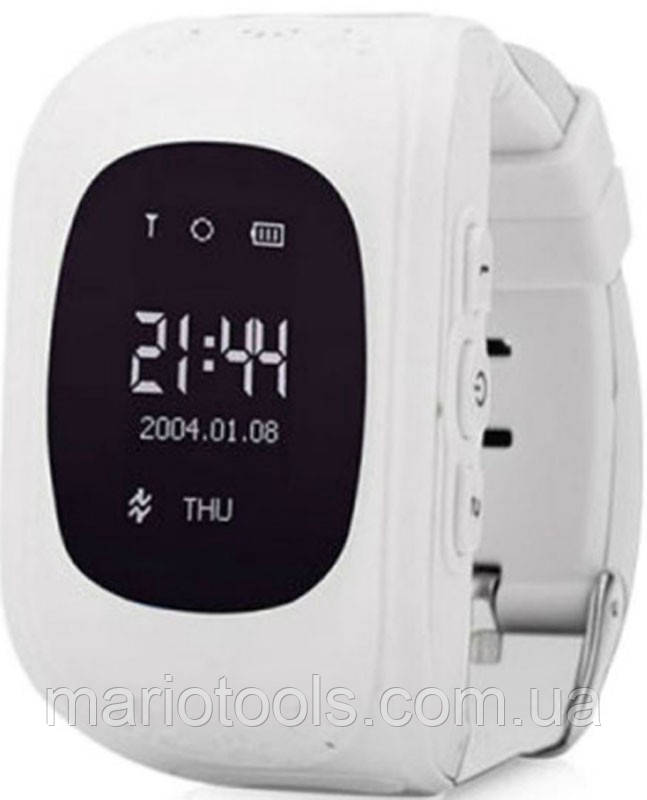 Детские смарт-часы Q50 с GPS трекером Белые