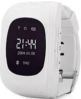Детские смарт-часы Q50 с GPS трекером Белые, фото 1
