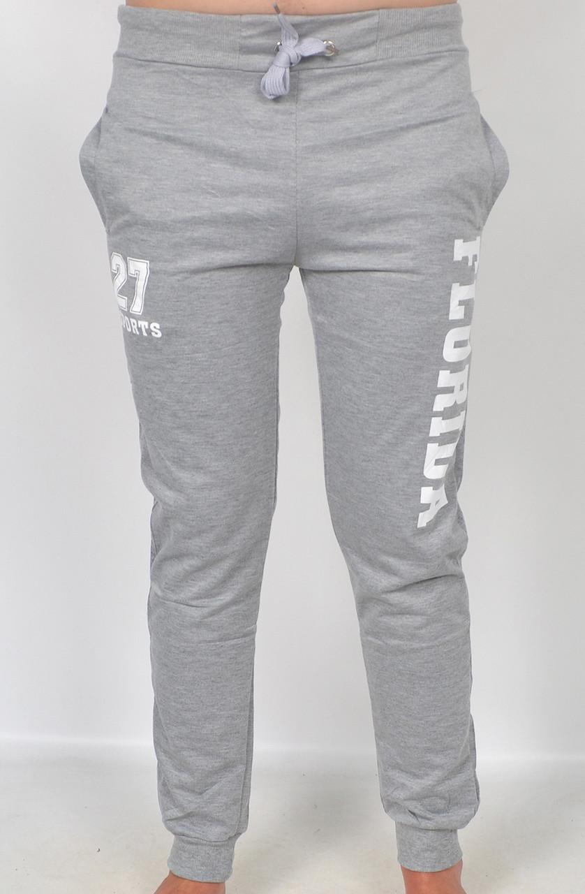 Чоловічі спортивні штани під манжет Florida(сірі) 4d18f604fd713