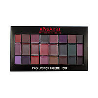 Палитра  для губ Freedom Makeup London Pro Lipstick Palette x 24 - Noir