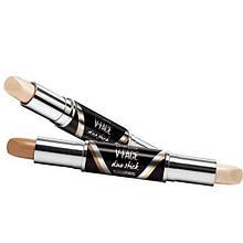 Двойной карандаш для контурирования KAQIYA V-Face duo Stick (палитра 3шт)