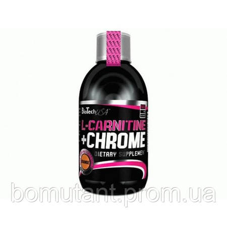 L-Carnitine 35 000 + Chrome 500 ml апельсин BioTech
