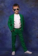 """Праздничный костюм """"Лен"""" брюки+пиджак"""