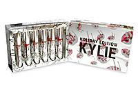 Набор жидких матовых помад Kylie Holiday Edition Box, 12 штук