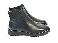 Черные осенние ботинки женские , фото 1