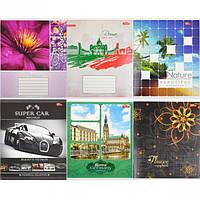 Тетрадь цветная 60 листов, клетка «Мрії» «mix» C60К