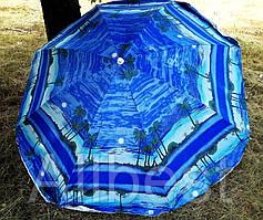 Зонт пляжный, торговый (с углом наклона) 200 см.