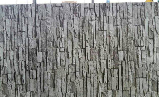 Профнастил ПС8 принт дикий камень вертикальный