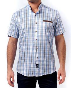 Мужская рубашка W.A.S.P, стойка воротник