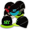 Вязаная шапка для мальчика с козырьком, KY64
