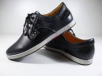 Школьные туфли для мальчика Yalasou кожаные Размер: 36-41