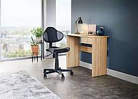 Стол письменный деревянный 100х40х75см дуб, фото 1