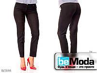 Классические брюки женские Black со стрелками черные