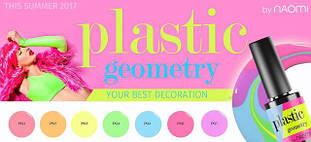 Гель-лаки Naomi Plastic Geometry