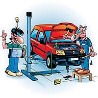 Замена резиновых подушек выхлопной системы Opel