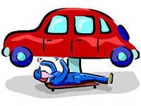 Замена резиновых подушек выхлопной системы Subaru