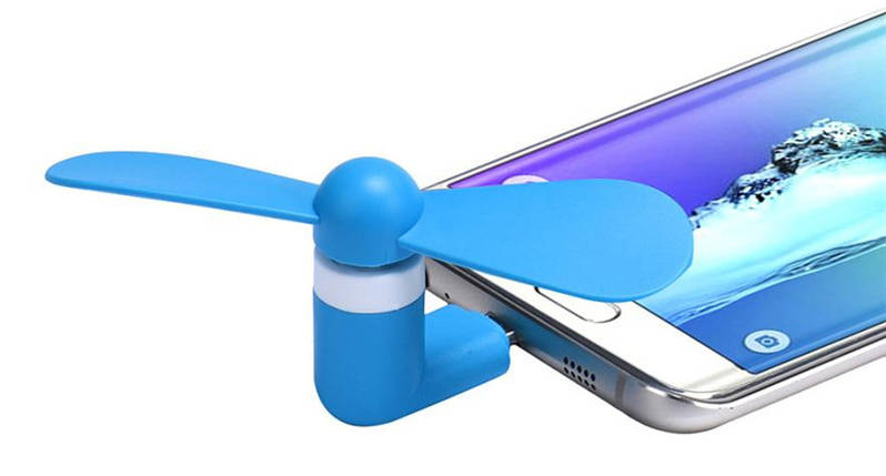 Мини вентилятор Micro-USB для Android, фото 2