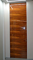 Межкомнатная дверь ELDOOR Wood (натуральный шпон) Палисандр GLOSS 100% в проем 2050х900