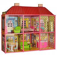 Кукольный дом для Барби 6983 My Lovely Villa . Двухэтажный 6 комнат