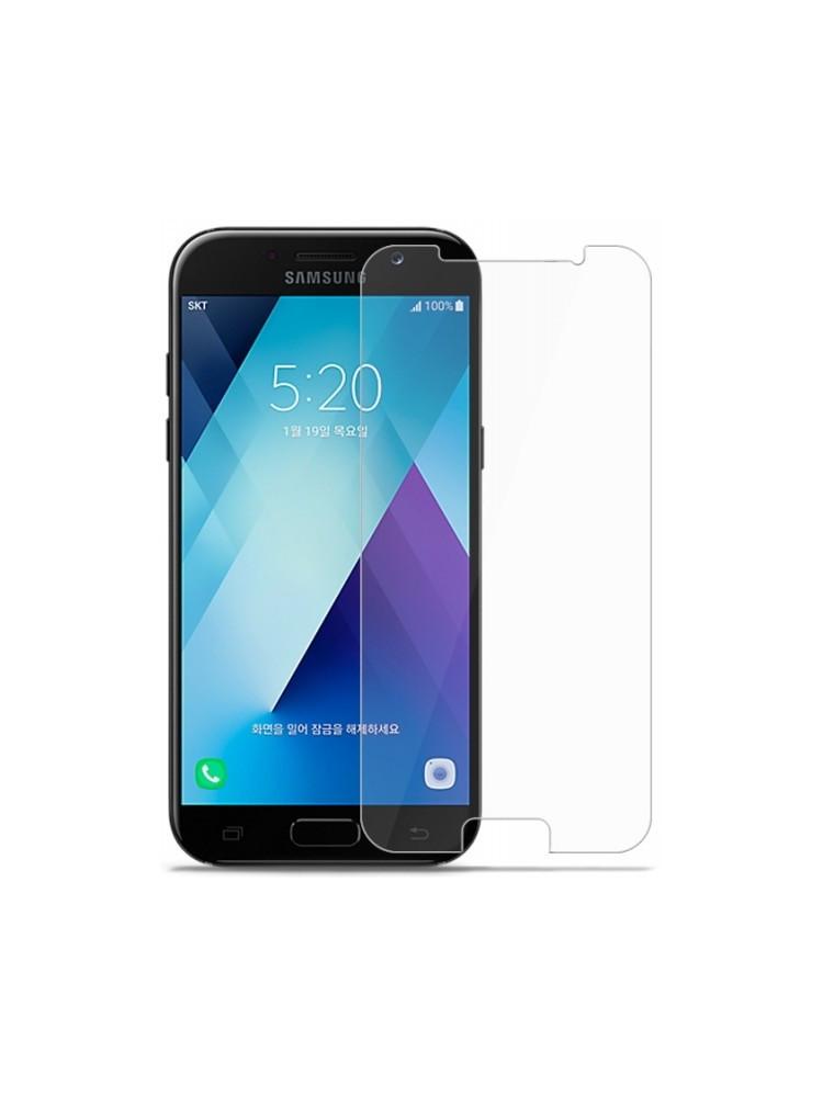 Защитное стекло для Samsung Galaxy A5 2017 A520 прозрачное 2.5D