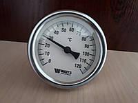Термометр биметаллический WATTS 63/50, 120С,ОШ