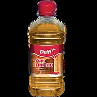 Лак для наружных и внутренних работ Delfi ПФ-110, бесцветный 0,5 л