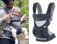 Эрго рюкзак переноска кенгуру для детей Ergobaby Four Position 360 Сool Air - Carbon Grey