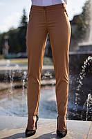 Классические женские брюки в коричневом цвете