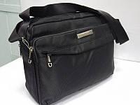 Мужская текстильная сумка для ноутбука через плечо LEADHAKE 6211