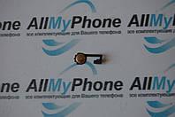 Шлейф для мобильного телефона Apple iPhone 4 кнопки меню (Home)